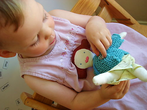 Liilly with doll