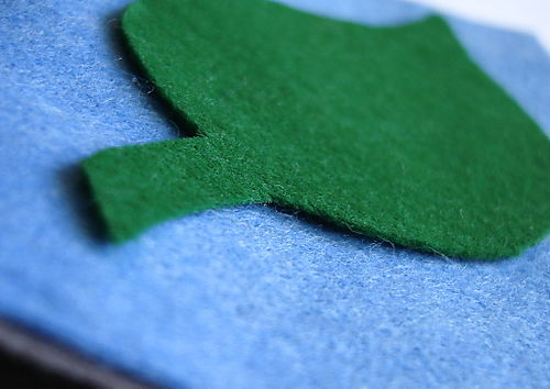 Green needle book