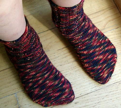 Sebastian's socks