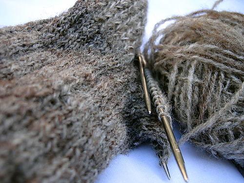 Wip knitting