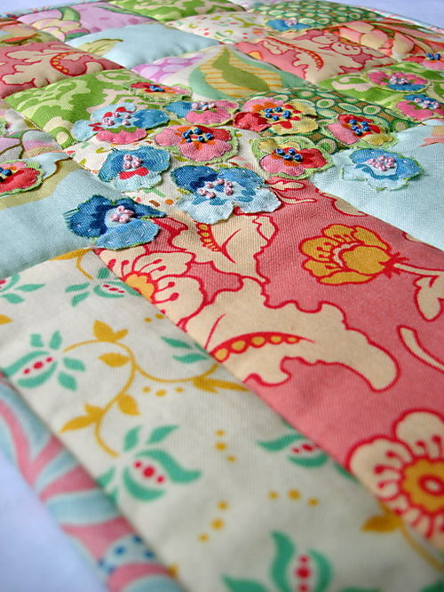 Doll quilt swap