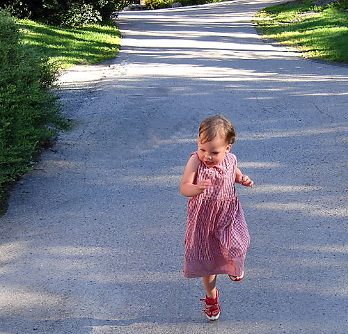 Lilly running