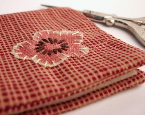 Cherry blossom needle book