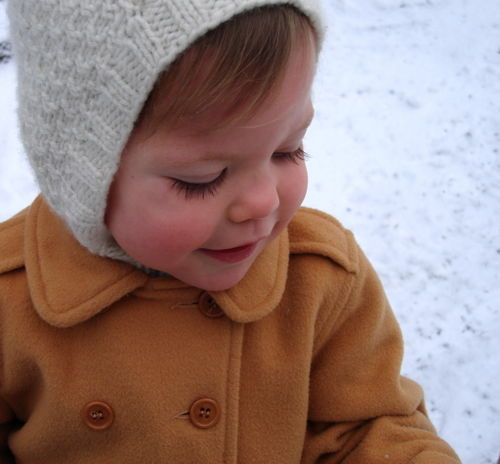 Llilly in snow