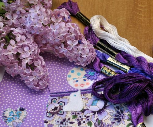 Lilac in progress