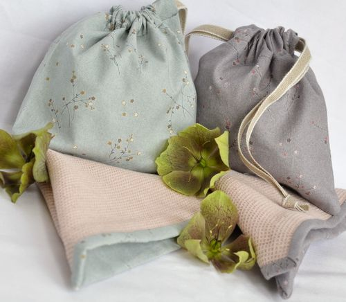 Cloth and bags