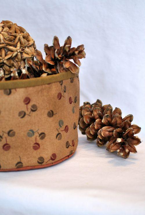 Fabric basket2