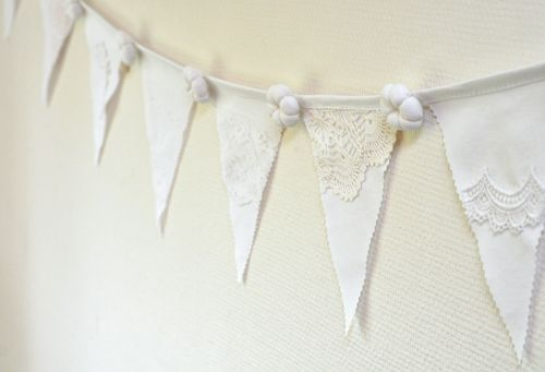 White wedding bunting3