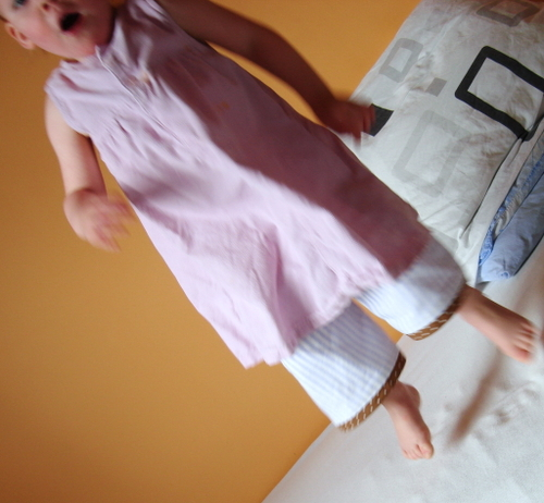 Lilly_jumping_on_bed